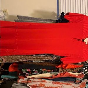 Michael Kors red dress